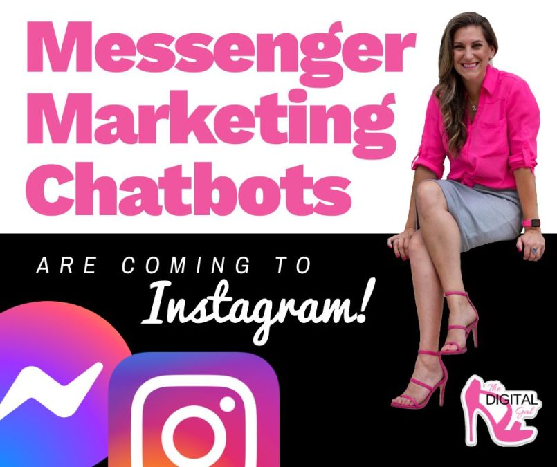 Messenger Marketing Chatbots Are Finally Coming To Instagram